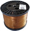 A spool of magnet wire